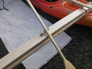 Paddle rudder
